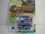 Ford Bronco 1968 Blue 50 Years 1:64 Johny Lightning